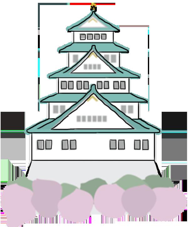 Wanderlogue cowandering through kansai. Palace clipart old house japanese