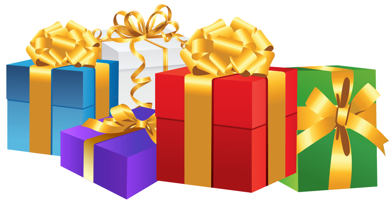 Clipart present transparent background. Birthday lacalabaza christmas gift