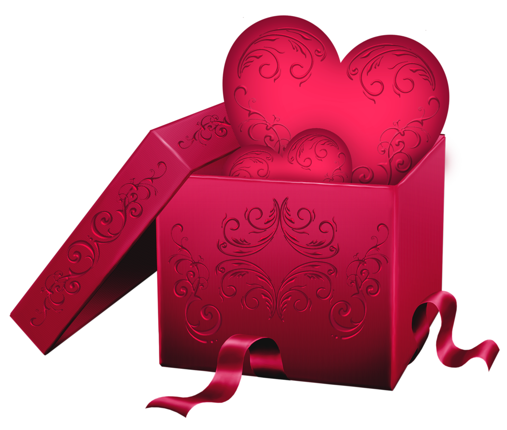 Gift clipart heart gift. Transparent box with png