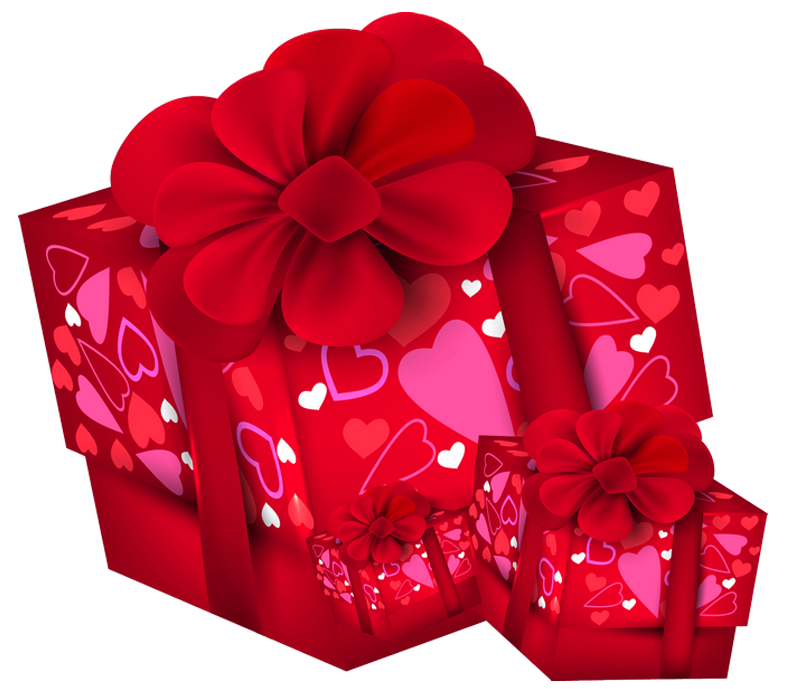 Clipart present valentine. Valentines day gift boxes