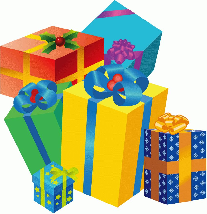 Clipart present vector. Free image of gifts