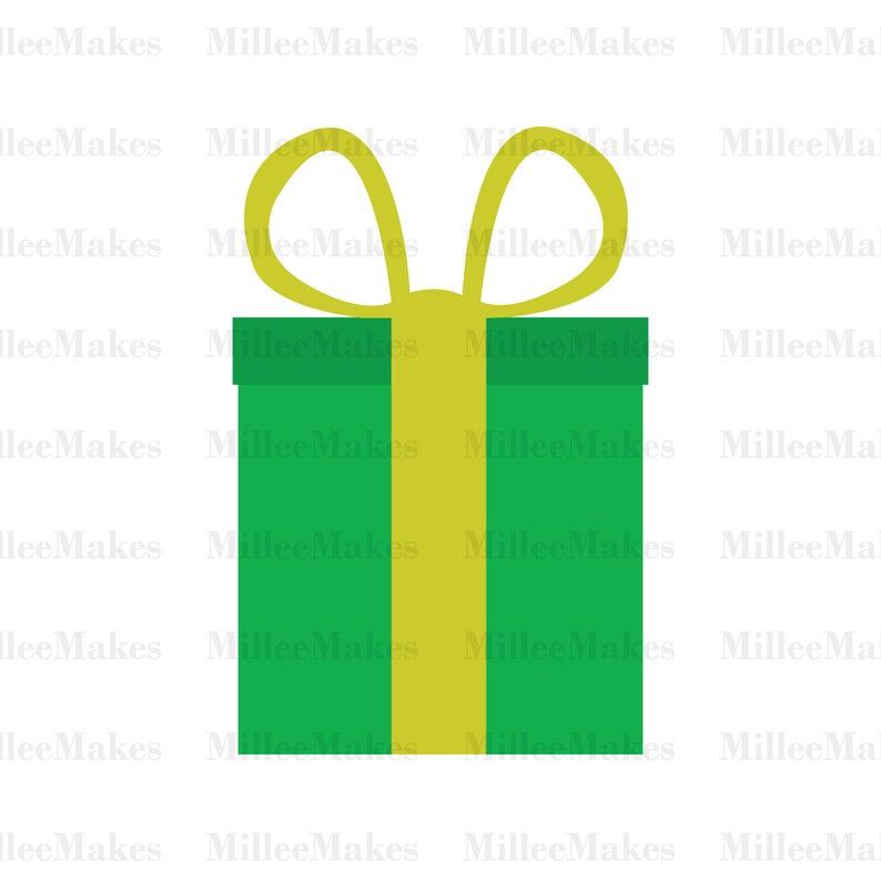 Clipart present vector. Birthday svg holiday christmas