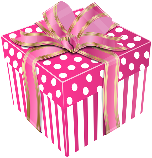 Gift clipart pink gift. Cute box transparent png