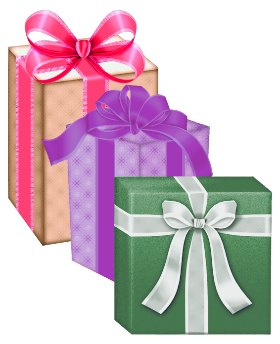 Gift clipart 3 gift. Boxes png gallery yopriceville