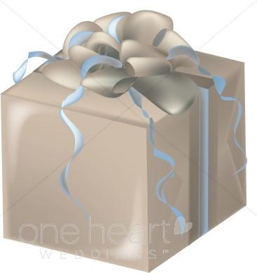 . Clipart present wedding gift