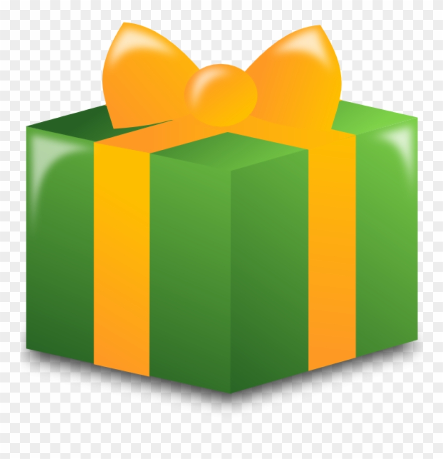 Clip art free . Clipart present wrapped present