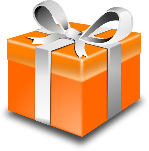 Clipart present wrapped present. Hd clip art free