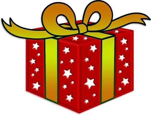 Christmas free images clipartix. Clipart present
