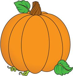 Cute faces plain clip. Clipart pumpkin