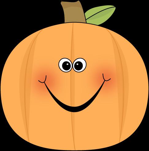 Cute clip art image. Pumpkin clipart