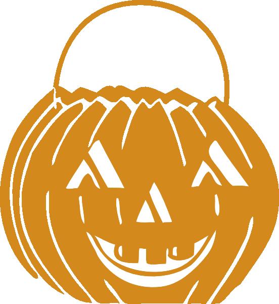 Clip art at clker. Pumpkin clipart basket