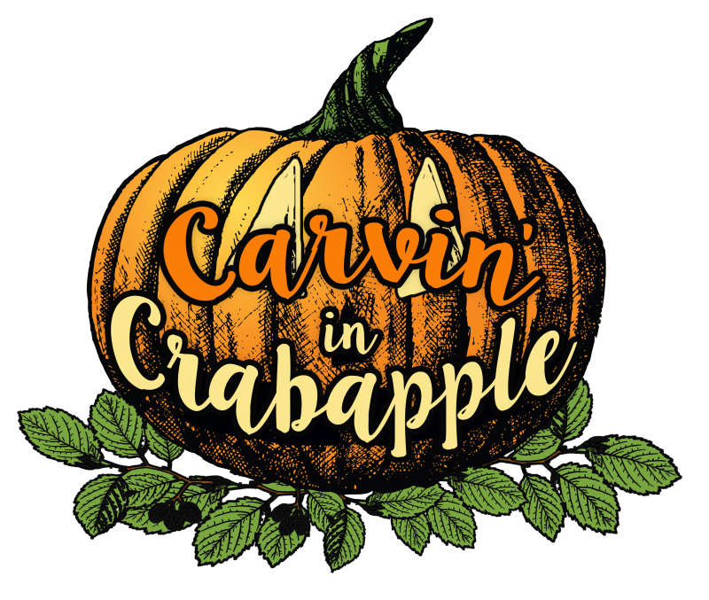 Carvin in crabapple city. Clipart pumpkin bowling