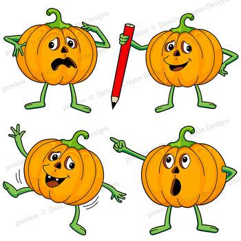Clip art jack o. Clipart pumpkin character