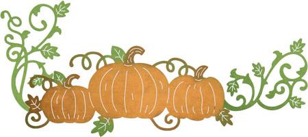 Pumpkin clipart corner. Patch cheery lynn lacey