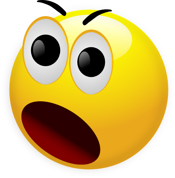 Smileys surprised pencil and. Mad clipart indignation