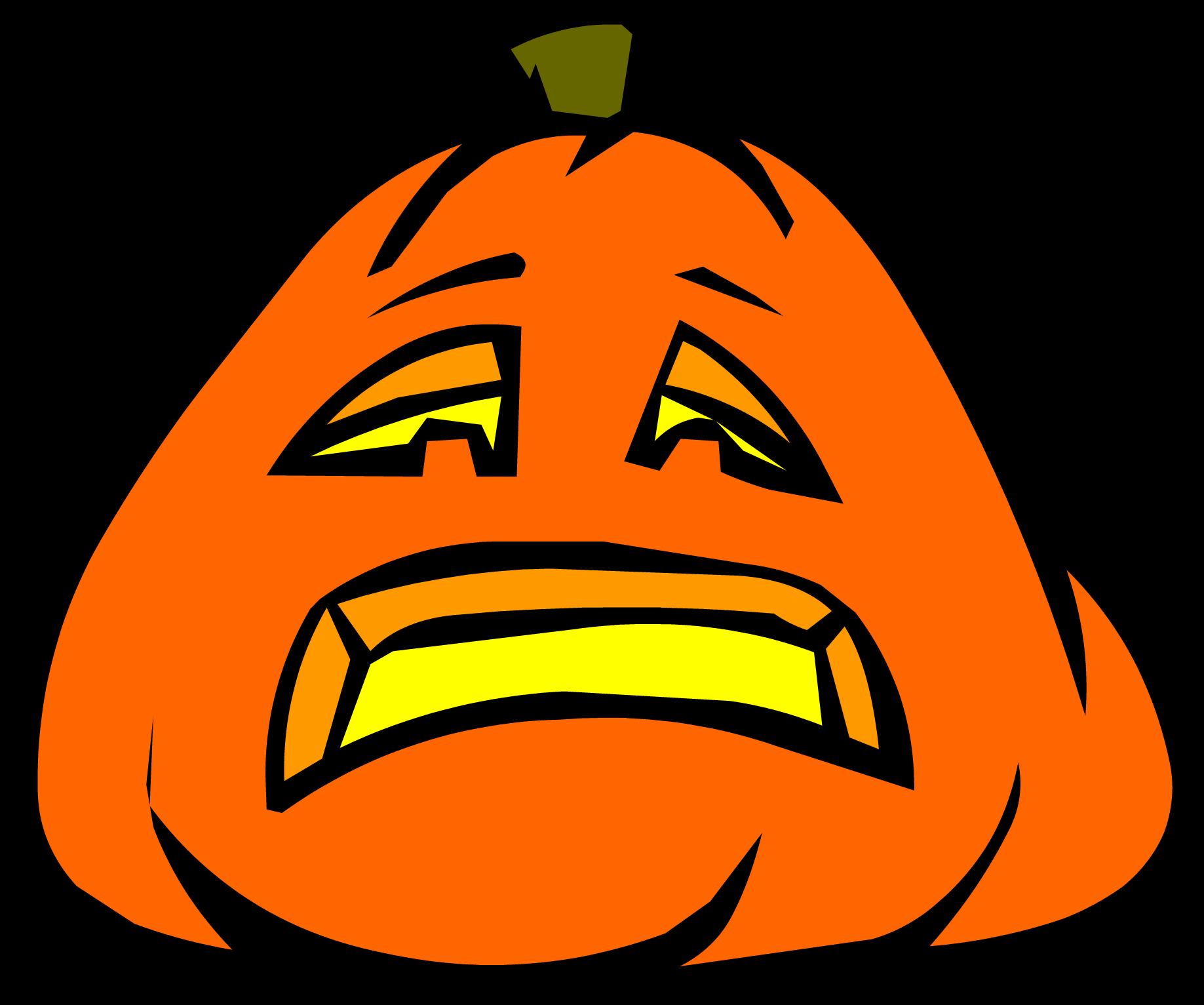 Image jack o lantern. Sad clipart pumpkin