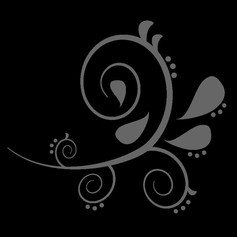 Free paisley curves flowers. Filigree clipart royal filigree
