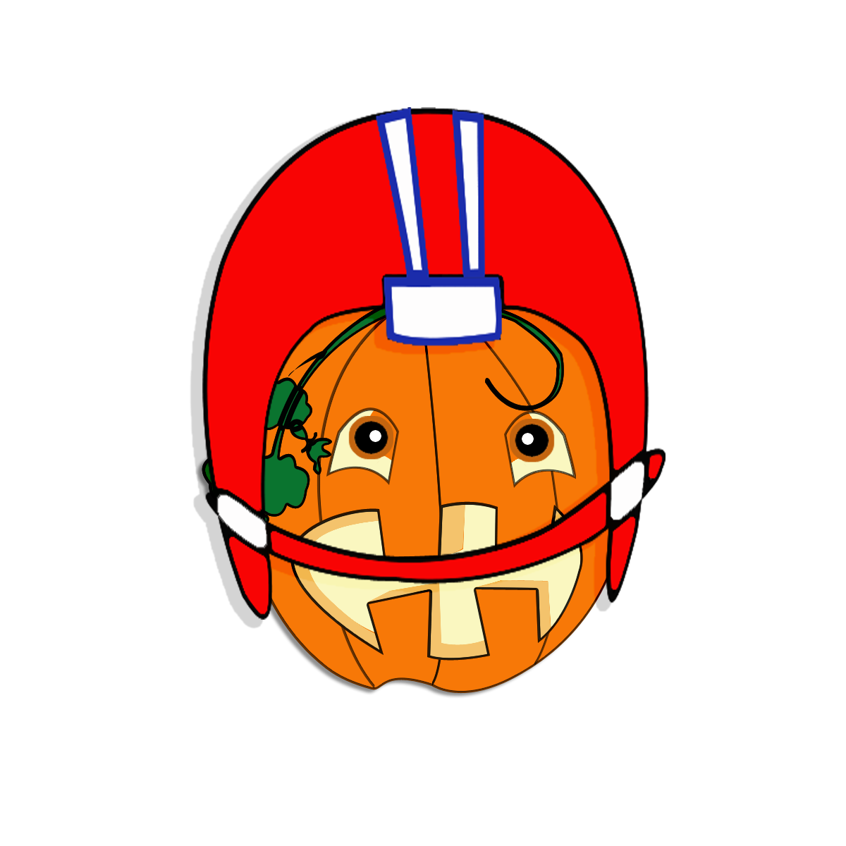 collection of high. Pumpkin clipart football