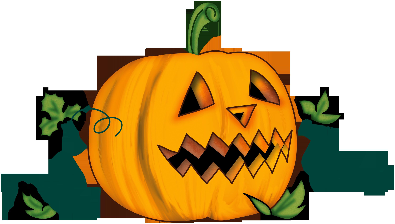 pumpkin clipart goofy