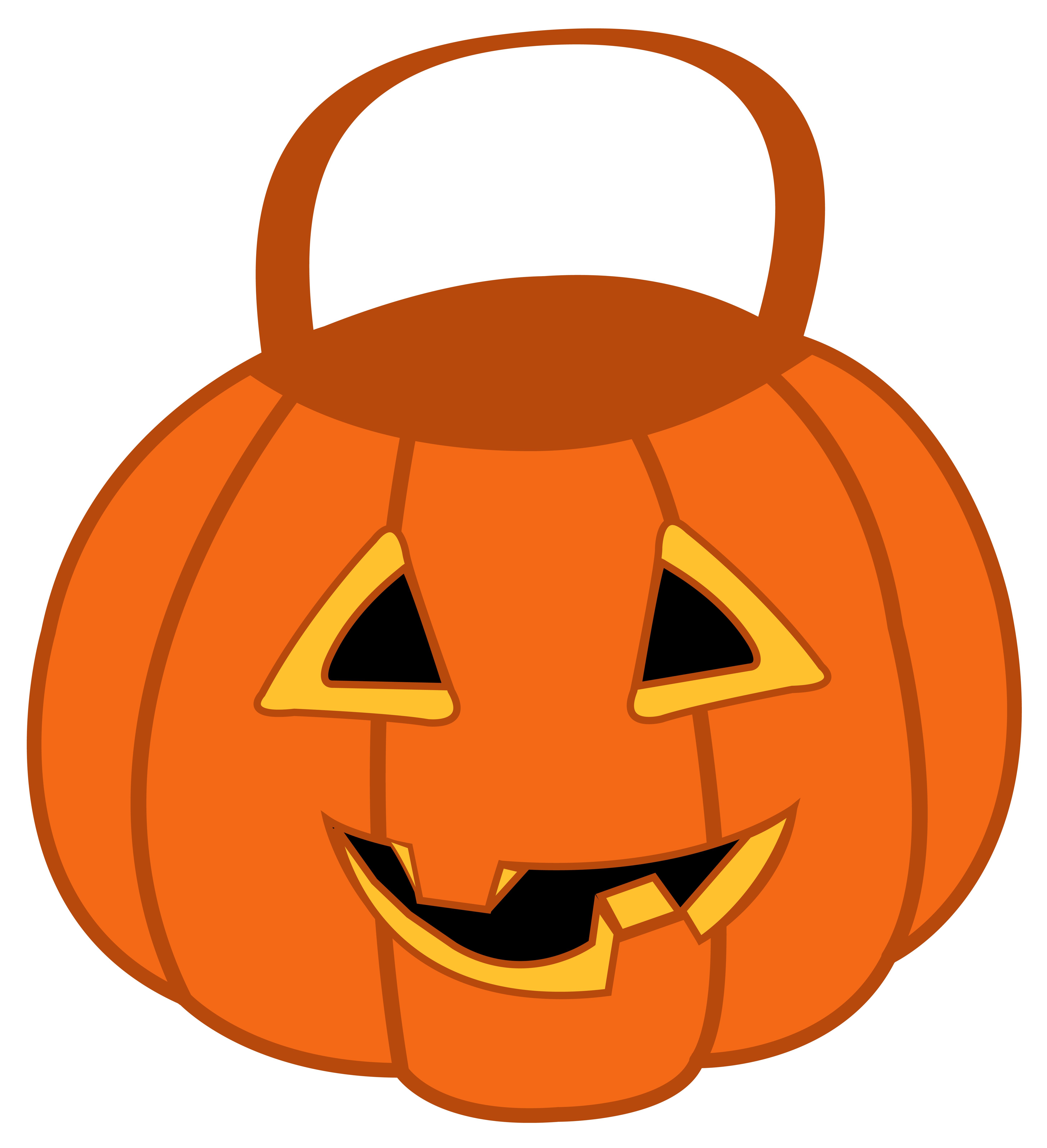 Scary pumpkin png image. Lantern clipart winter