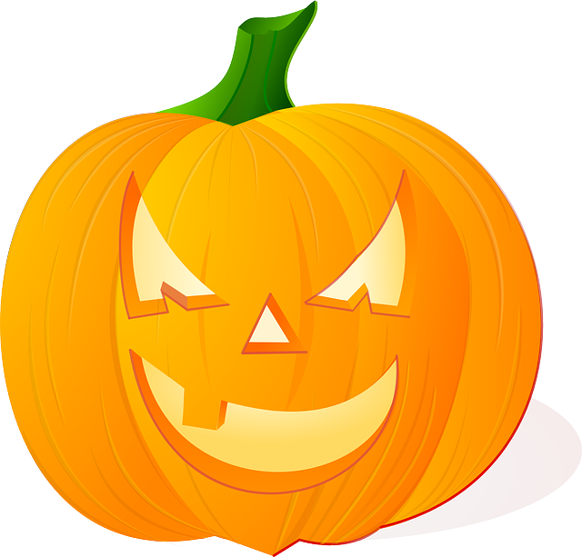 Horror pencil and in. Clipart pumpkin happy birthday