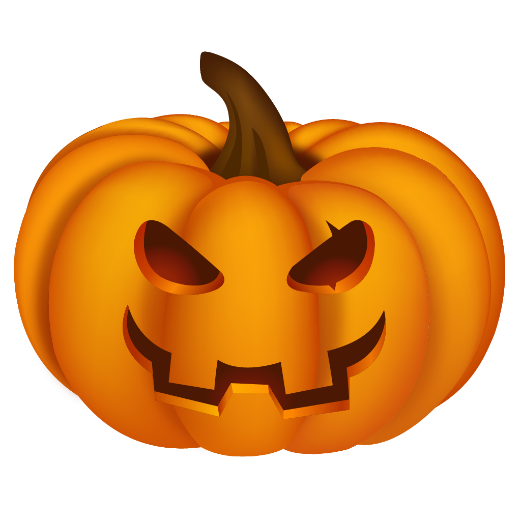 Halloween clipart icon. Pumpkin happy birthday free