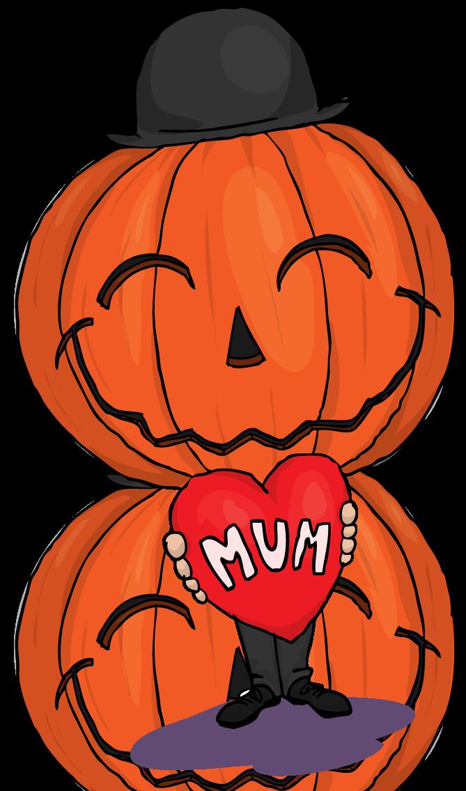 Mum of von bandersnatch. Clipart pumpkin happy birthday