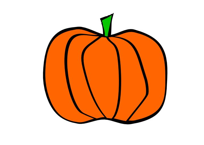 Pumpkin clipart sketch. Free line drawing download