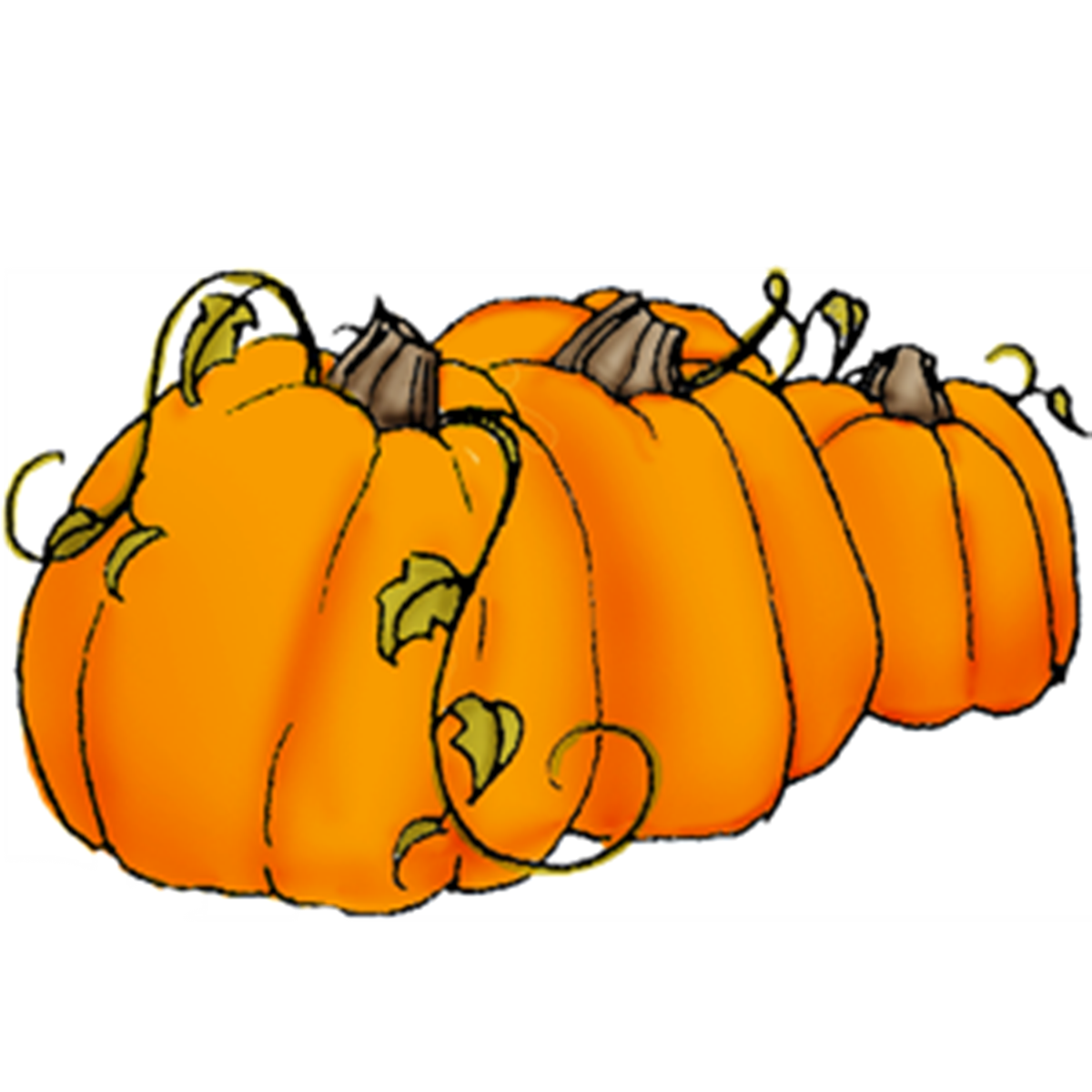 collection of high. Pumpkin clipart row