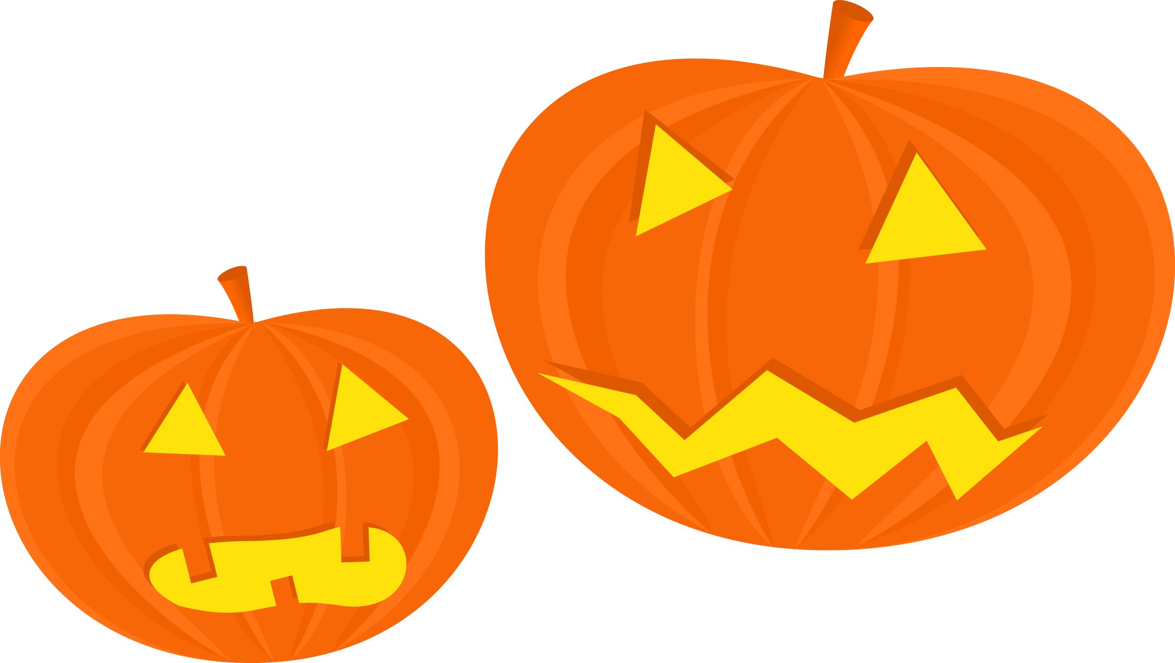 collection of angry. Pumpkin clipart creepy