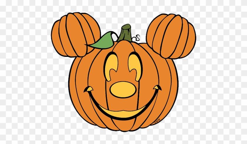 Disney halloween clip art. Pumpkin clipart mickey mouse
