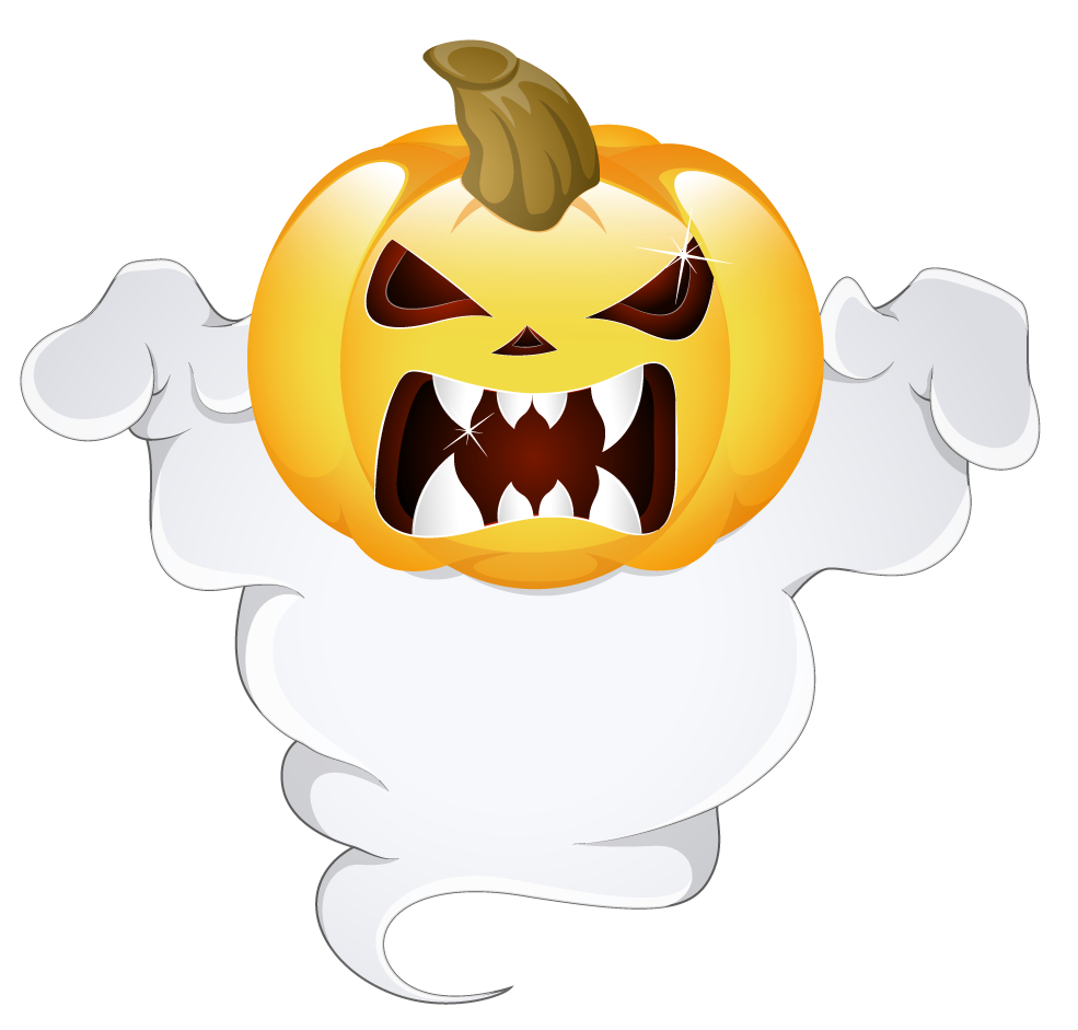 Clipart pumpkin monster. Halloween transparent picture gallery