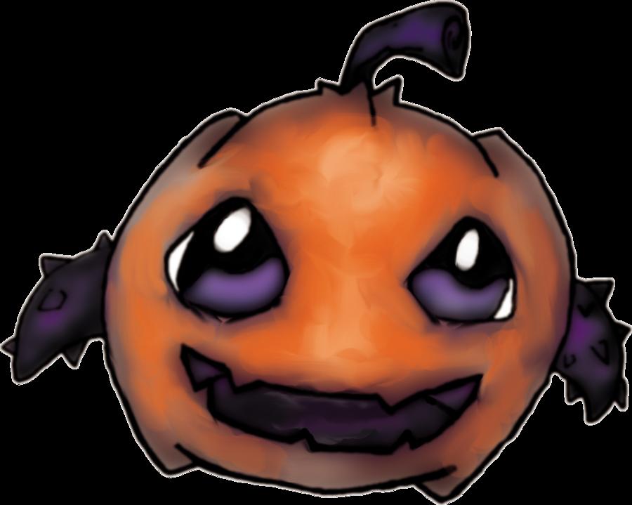 Clipart pumpkin monster. By illmagus on deviantart