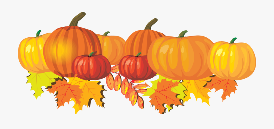 Cropped clip art image. Pumpkin clipart october