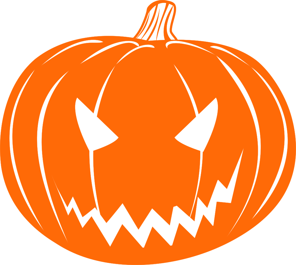 Pumpkin clipart lantern. Onlinelabels clip art scary
