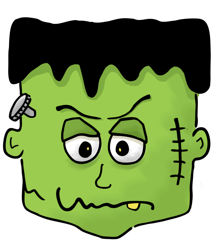 Clip art images onclipart. Frankenstein clipart decor