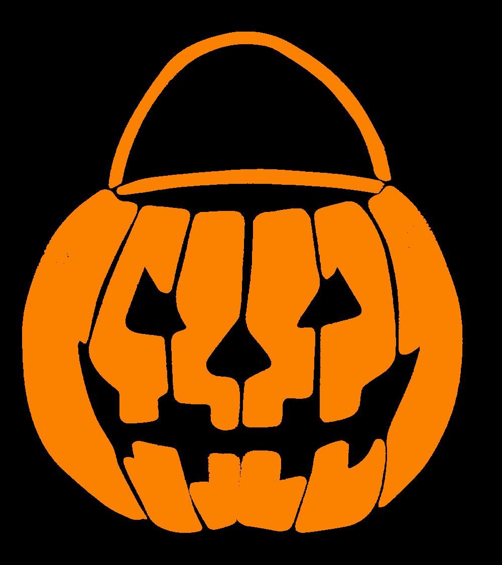 Candy corn . Pumpkin clipart pail
