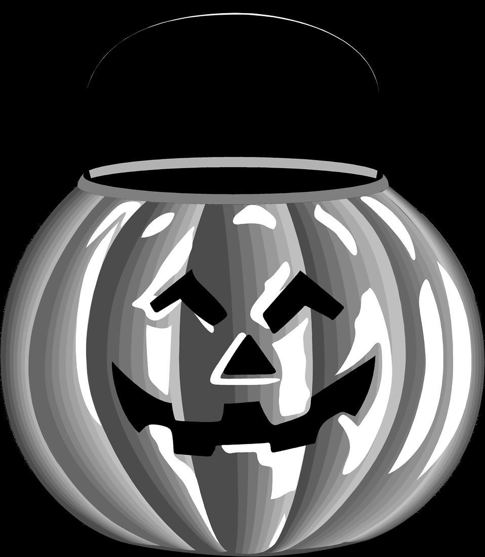 Jack o lantern free. Clipart pumpkin pail