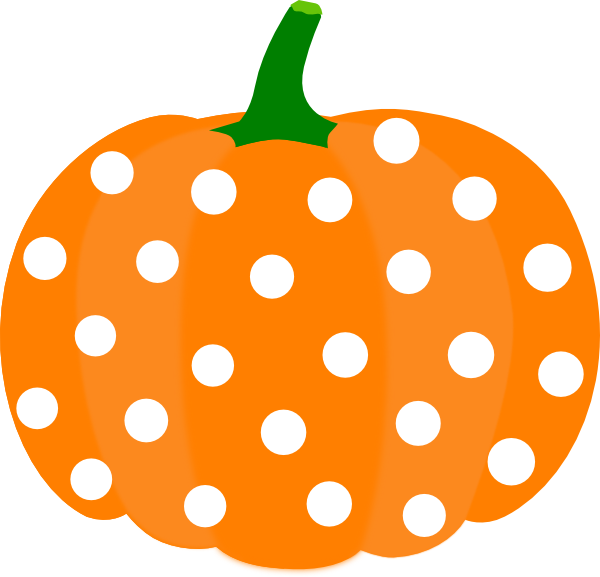 clipart pumpkin pastel
