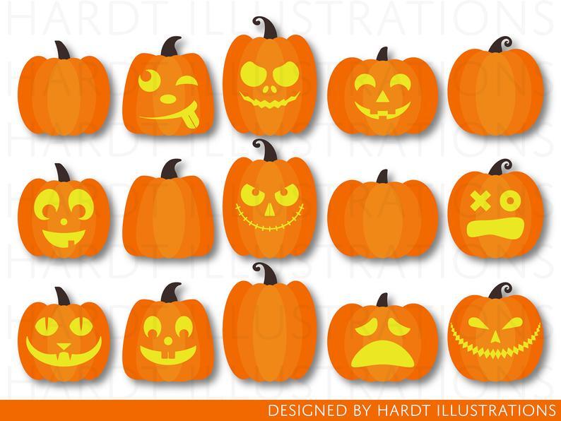 Clipart pumpkin pumkin. Pumpkins halloween autumn jack