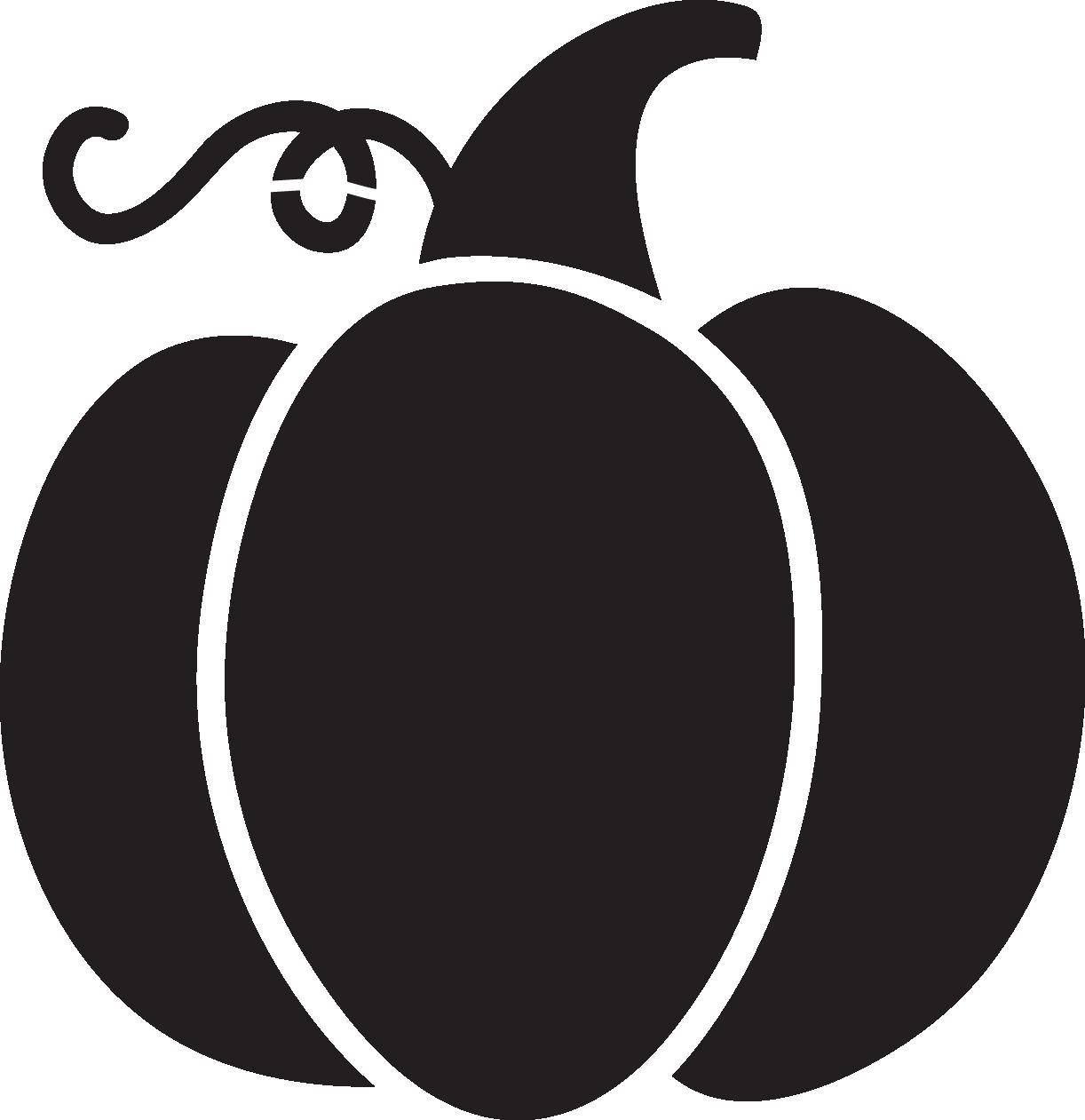 Longhorn clipart pumpkin. Silhouette at getdrawings com