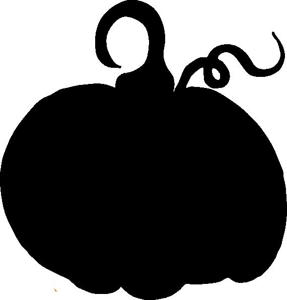 Sihouette clip art at. Pumpkin clipart silhouette