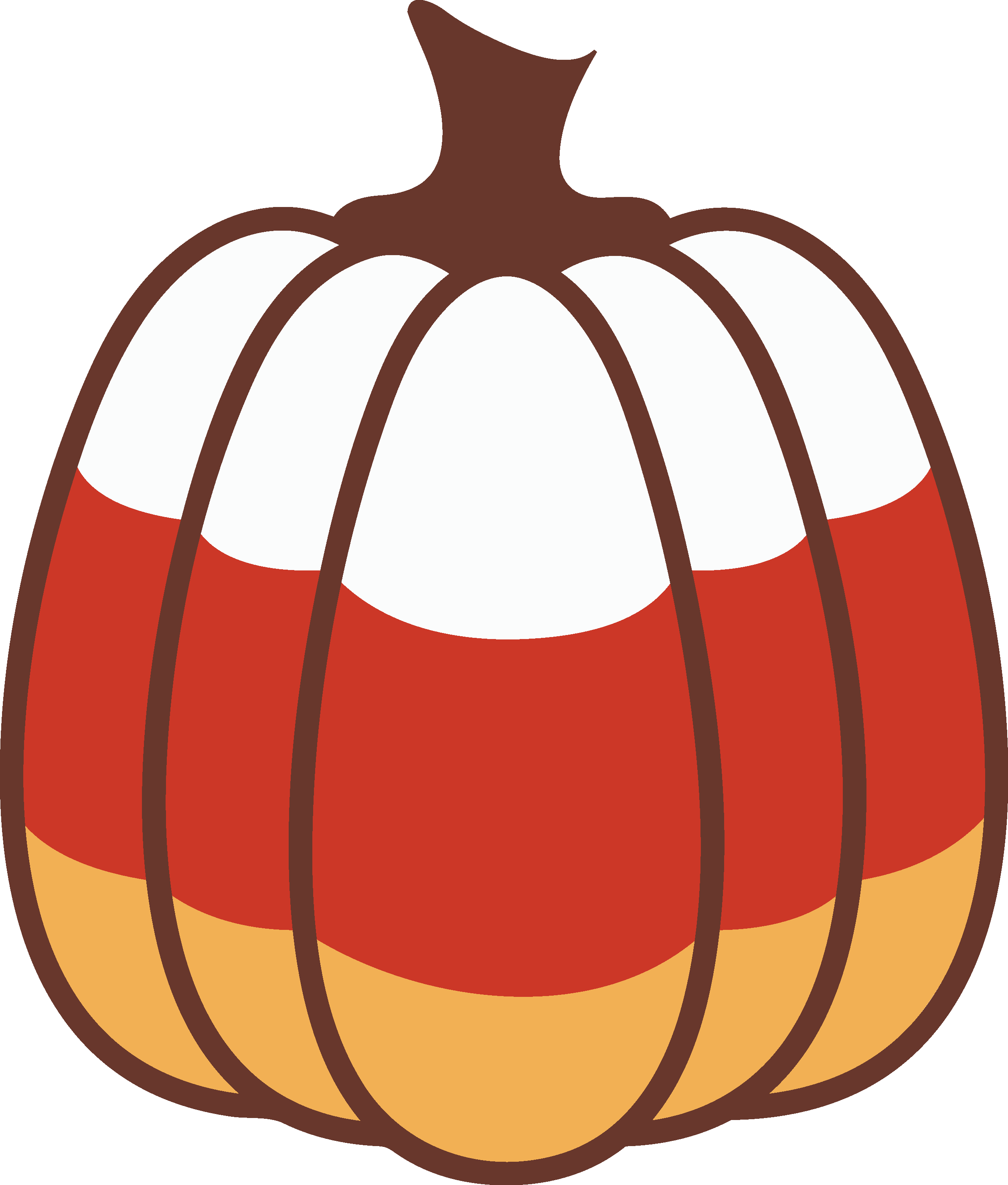 Cardstock and paper crafts. Clipart pumpkin silhouette