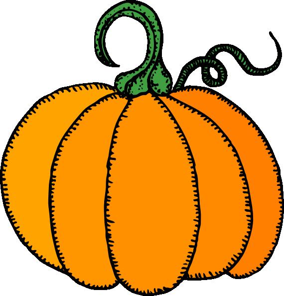 Clip art at clker. Pumpkin clipart simple