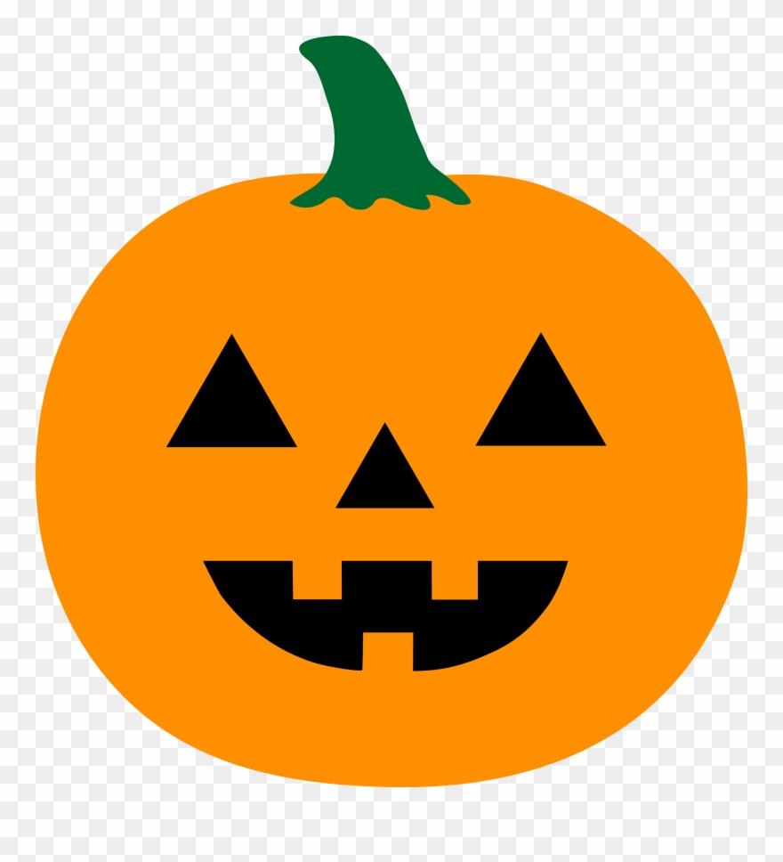 Pumpkin clipart basic. Simple jack o lantern