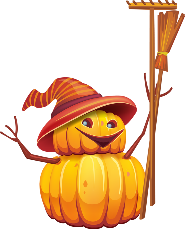 Autumn still life harvest. Pumpkin clipart snowman