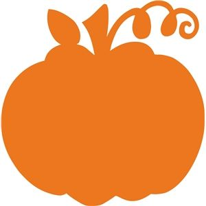 Silhouette design store download. Pumpkin clipart solid
