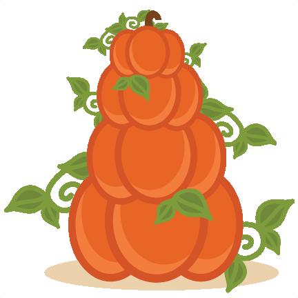 Clipart pumpkin stack. Stacked pumpkins free svg