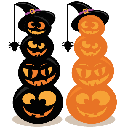 Clipart pumpkin stack.  cents stacked jack