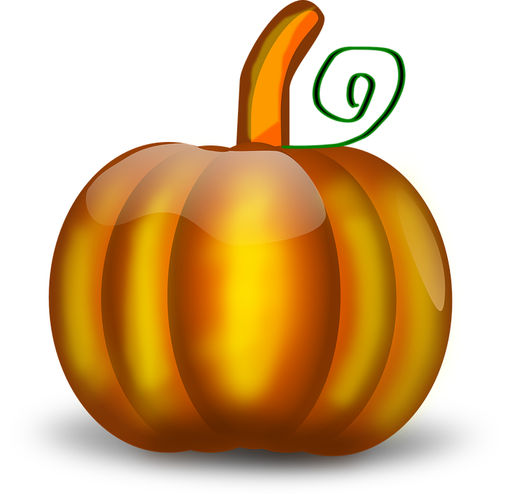Collection of green cliparts. Clipart pumpkin vector